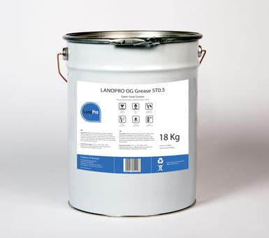 LanoPro OG Grease ST0.5 is an Open Gear Grease
