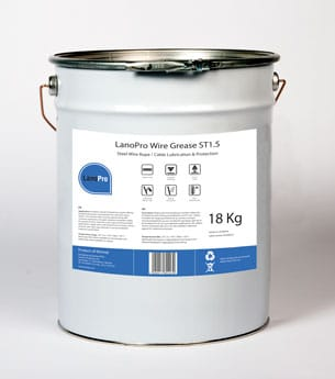 LanoPro Wire Grease ST1.5 is an mineral grease for all kind of wires that dont need VGP approval