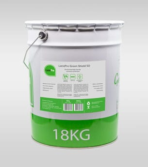 LanoPro Green Shield 50 in 18kg steel pail for corrosion protection