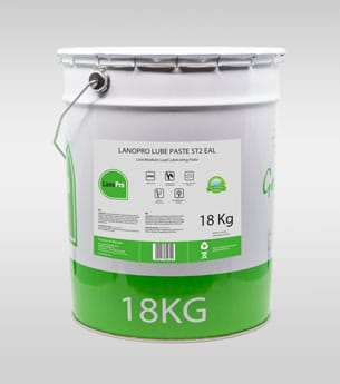 Biodegradable Lube Paste in 18kg steel pail From LanoPro