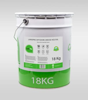 LanoPro Offshore Grease HD2 EAL in 18kg steel pail