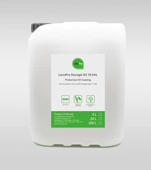 Storage Oil 10 EAL from LanoPro 20L