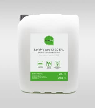 Biodegradable Wire Oil in 20L Plastic Can From LanoPro
