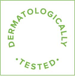 Dermatologically tested symbol
